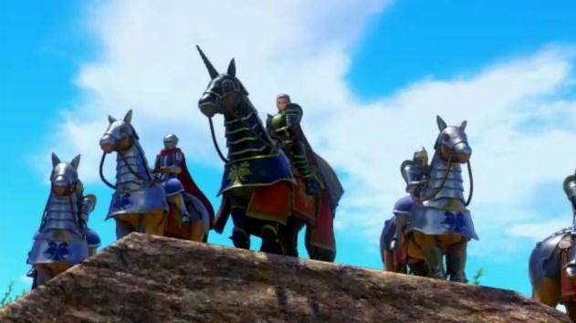 ドラゴンクエスト11PS4ゲームプレイ画面デルカダール脱出劇で旅人のほこら目前