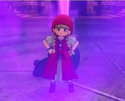 ドラゴンクエスト11PS4ゲームプレイ画面デンダのアジト内部潜入しデンダ討伐後に魔力のこめられたツボを開放する赤頭巾ベロニカ