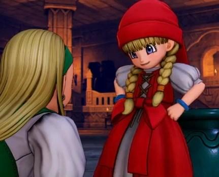 ドラゴンクエスト11PS4ゲームプレイ画面デンダのアジト内部潜入してツボから魔力開放し吸い込んだものの若さを保ったままで年齢は戻らず