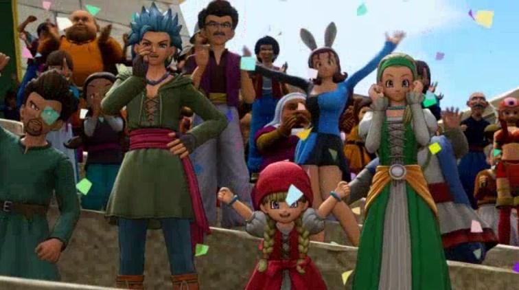 ファーリス王子の代走影武者レースでカミュとセーニャとベロニカも応援する