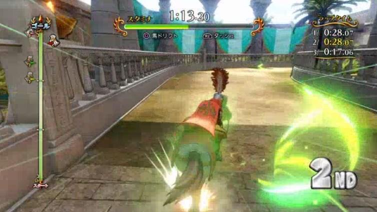 ファーリス王子の代走影武者レースドリフト操作が難しくてスタミナ回収できない