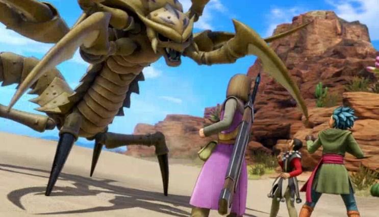 ファーリス王子の砂漠の殺し屋デスコピオン討伐といざ戦闘開始