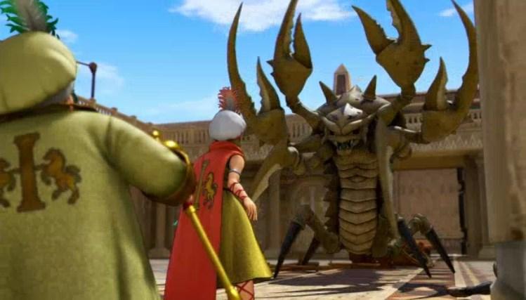 砂漠の殺し屋デスコピオン討伐を終えて帰還するもデスコピオン復活してしまった