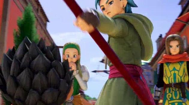 カミュがラッドから杖を取り上げるシーン