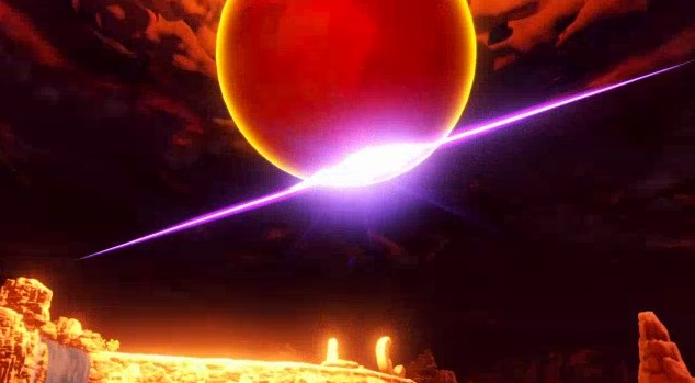 魔王の剣で勇者の星を叩き斬る魔王
