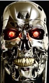 ターミネーターの骸骨骨格画像でゲームマスターXのアイコンモチーフでもある