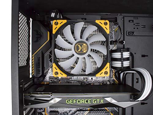ゲームマスターXCPUクーラー通常版マザーボードに取り付けたイメージ画像