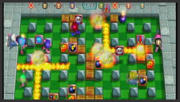 ゲーム 任天堂 盛り上がる ボンバーマン Wii