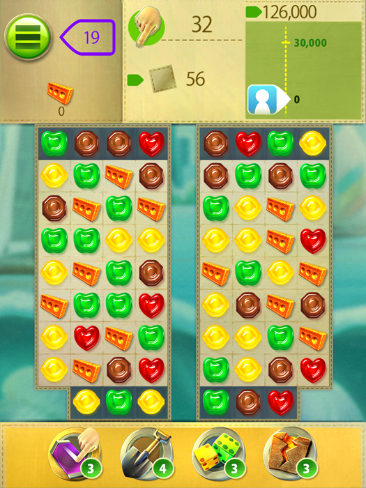 グミドロップ おすすめ無料アプリ マッチ3パズル 中毒性 ステージ縦画面