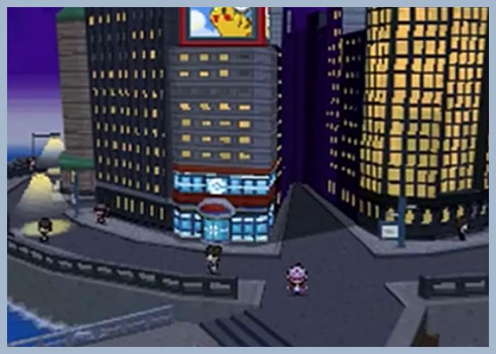 ゲーム 任天堂 ポケモン ポケットモンスター ブラック ホワイト ブラック2 ホワイト2 BW BW2 ヒウンシティ 街 シティ タウン