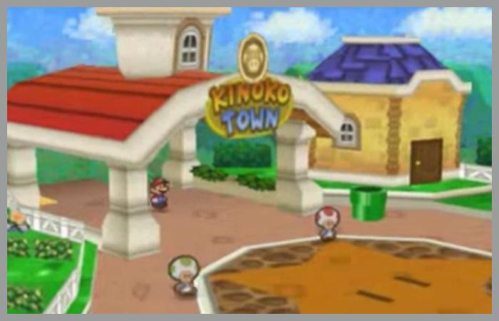 ゲーム 任天堂 マリオストーリー キノコタウン 街 シティ タウン
