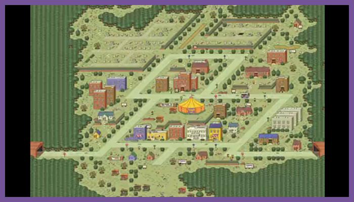 ゲーム 任天堂 MOTHER2 ギーグの逆襲 スリーク 街 シティ タウン