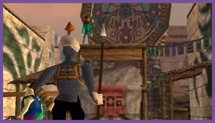 ゲーム 任天堂 ゼルダの伝説 ムジュラの仮面 クロックタウン 街 シティ タウン