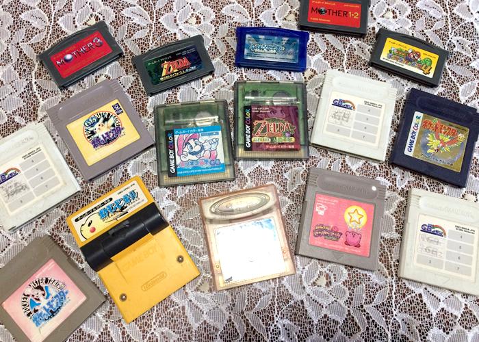 ゲームボーイ ゲームボーイカラー ゲームボーイアドバンス ソフト カセット