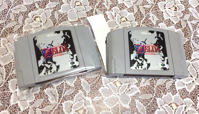 ニンテンドー64 ゼルダの伝説 時のオカリナ ソフト カセット