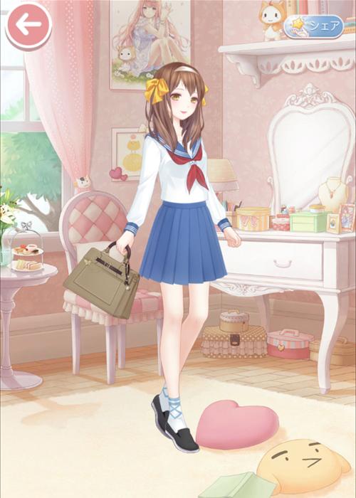 無料アプリ ゲーム ミラクルニキ 涼宮ハルヒ