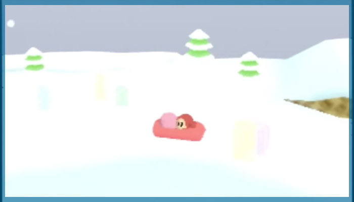 ゲーム 任天堂 音楽 冬 星のカービィ64 ブルブルスターステージ1