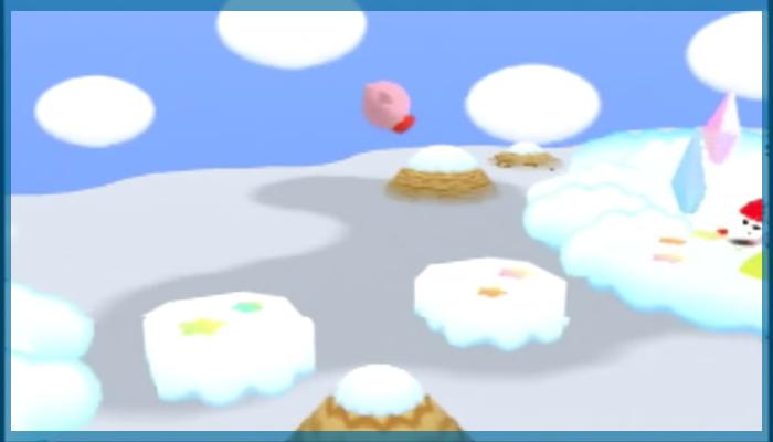 ゲーム 任天堂 音楽 冬 星のカービィ64 くものうえで バタービルディング