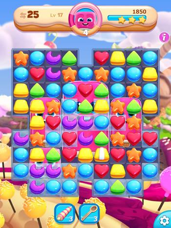 かわいいマッチ3パズル、Cookie Jam BLAST