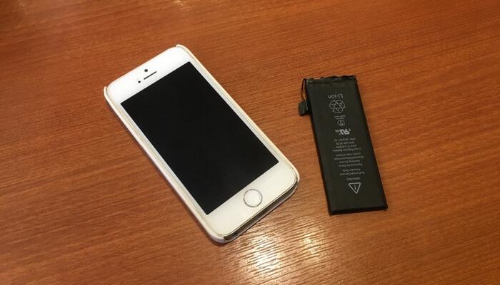 iPhoneの充電の減りがおかしくなったバッテリーを格安で修理してもらいました