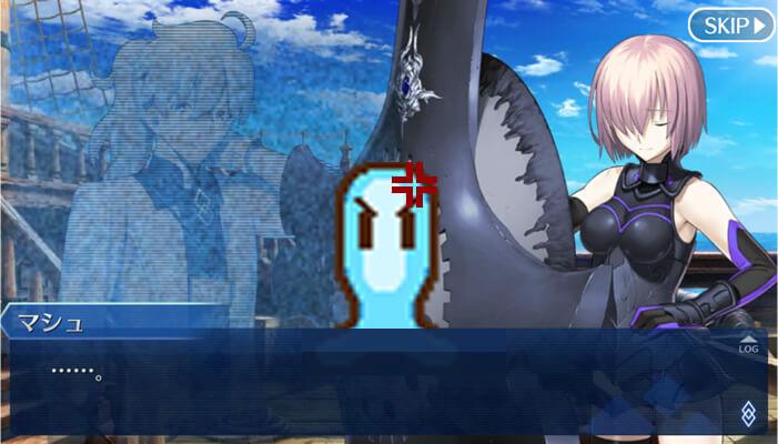 アプリゲーム、Fate/Grand Order(FGO)でレイシフトに相変わらず慣れない