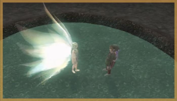ゼルダの伝説トワイライトプリンセスより大妖精の泉・ファイルセレクト