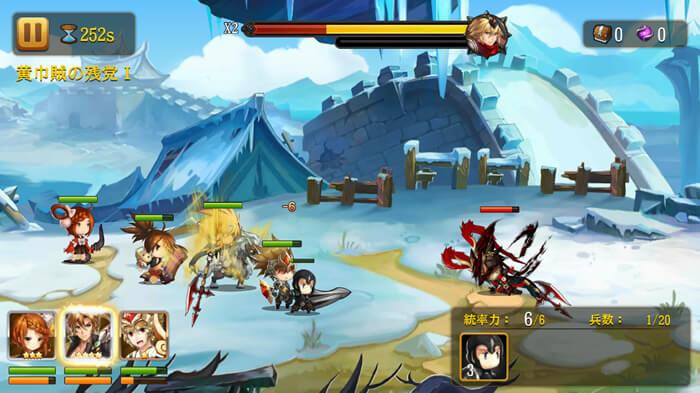 オススメ無料バトルRPGアプリ、幻想少女での必殺技とカットイン画面