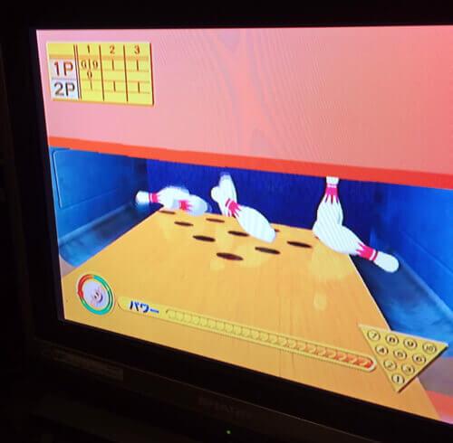 ゲーム居酒屋花ぼっくりでスーパーモンキーボール2を遊びました