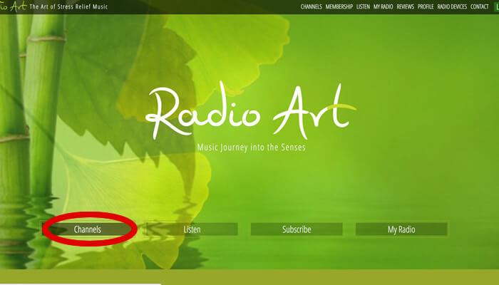 作業用BGMを無料で聴くことができるRadio Artの使い方