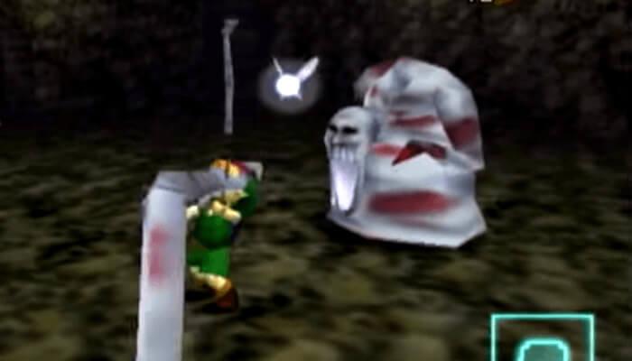 任天堂ゲームのトラウマシーン&キャラランキング2位、ゼルダの伝説 時のオカリナよりデドハンド