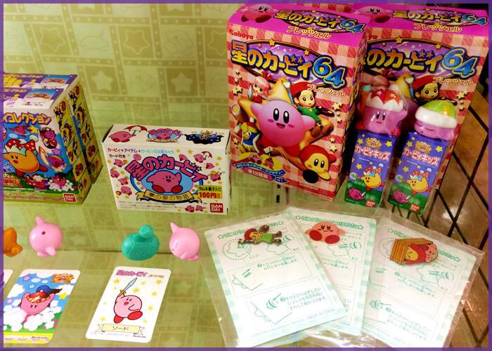星のカービィ64のピンズとラムネ菓子
