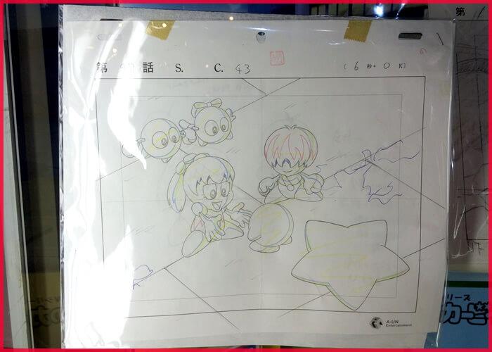 アニメカービィの原画