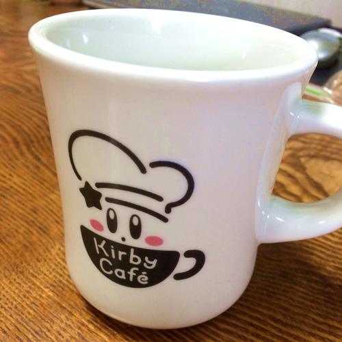 Kirby Cafeで買ったオリジナルスタイルマグカップ