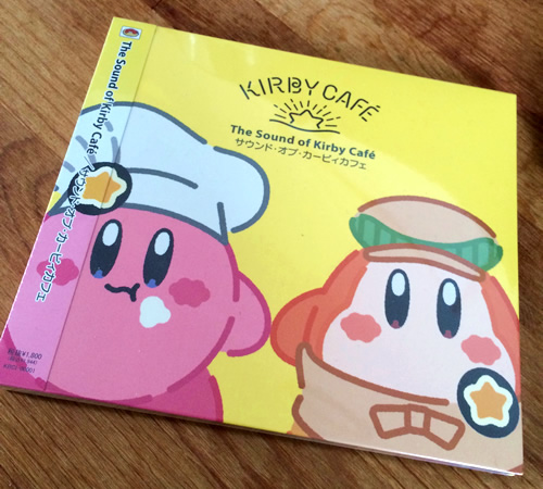 Kirby Cafeで買ったThe Sound of Kirby Café/サウンド・オブ・カービィカフェ
