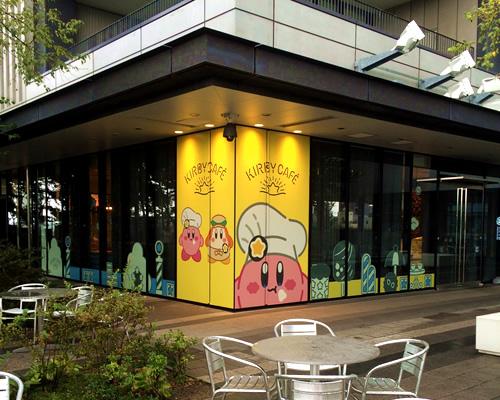 墨田区押上ソラマチ4階、カービィカフェの外観