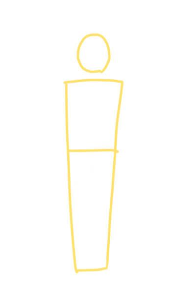 カンタンに絵が上達する、体の描き方1(スマブラのピットくん)