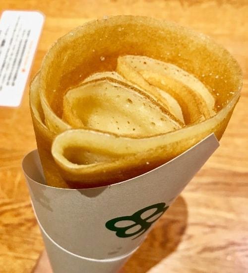 東京スカイツリータウン・ソラマチ、よつ葉のシュガーバタークレープ