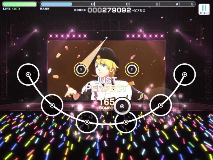 うたの☆プリンスさまっ♪ Shining Live(シャニライ)のゲーム画面
