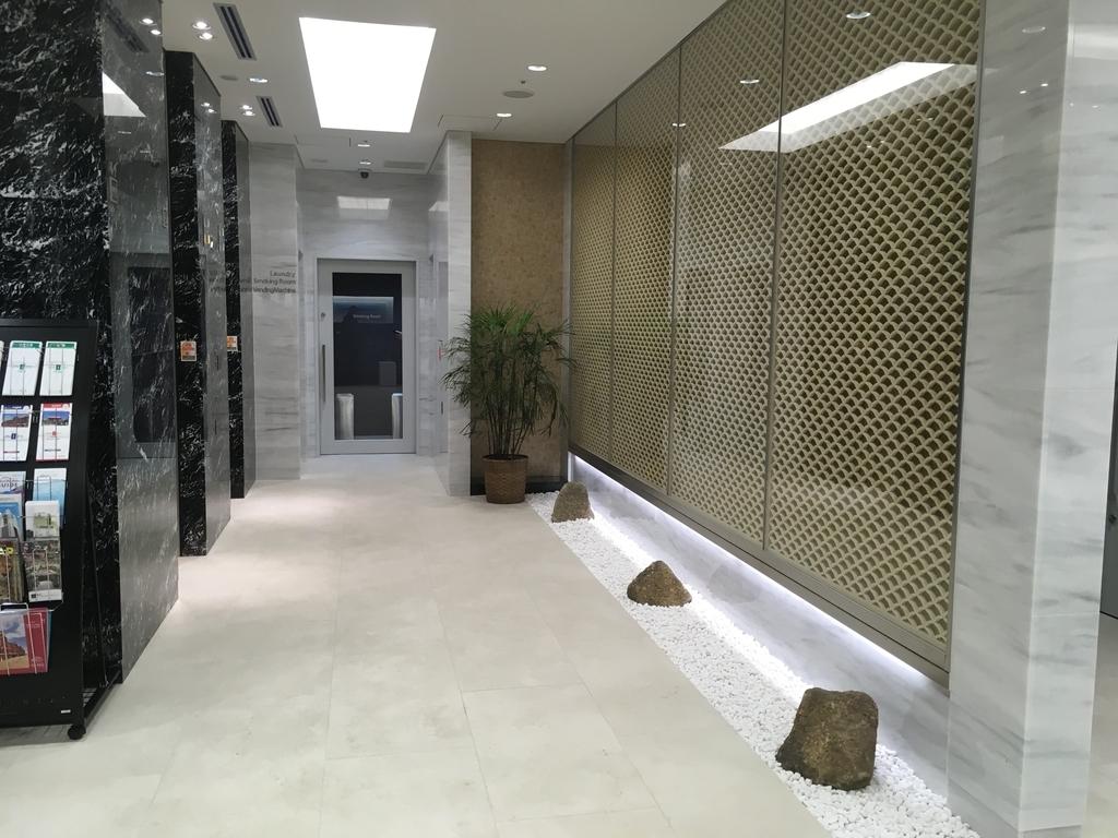ユニゾエレベーターホール