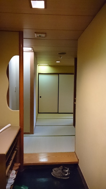 四万グランドホテルの部屋の写真-玄関
