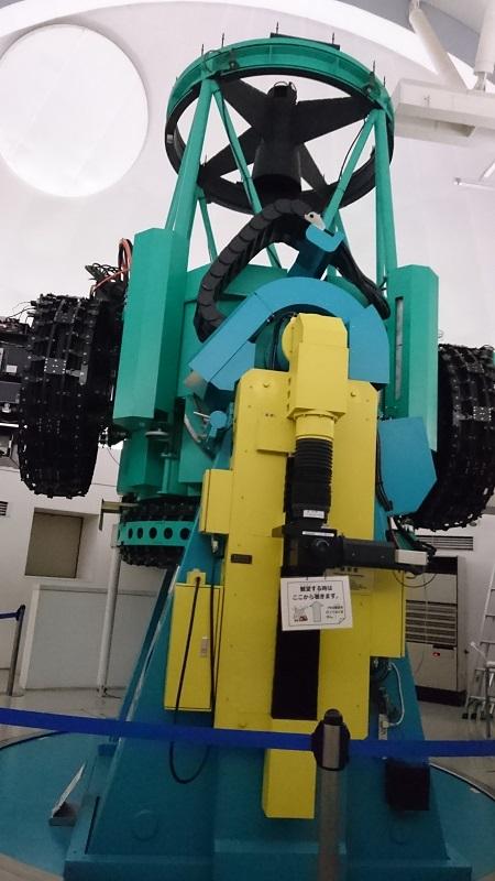 ぐんま天文台150cm望遠鏡全体