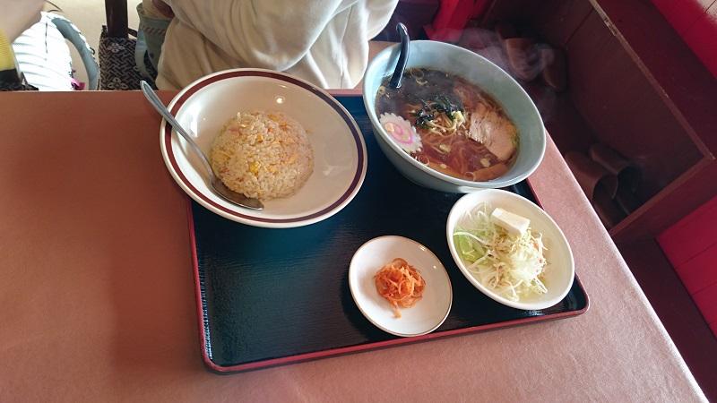 中華料理「金鳳」ラーメン&チャーハンセット