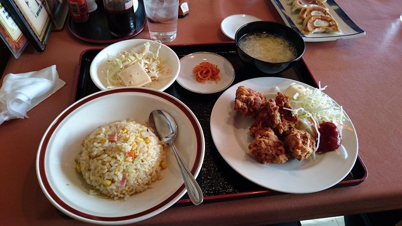 中華料理「金鳳」チャーハン&から揚げセット