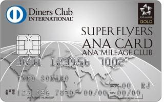 ANAダイナース スーパーフライヤーズカード ダイナース画像