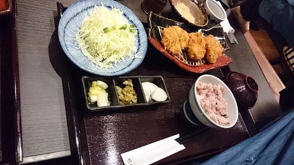 黒豚ひれかつ定食(120g)の写真