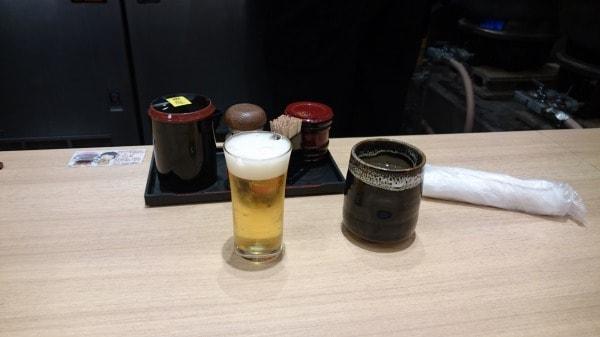 門左衛門の一口ビール