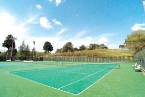 ラフォーレ修善寺 テニスコートの写真