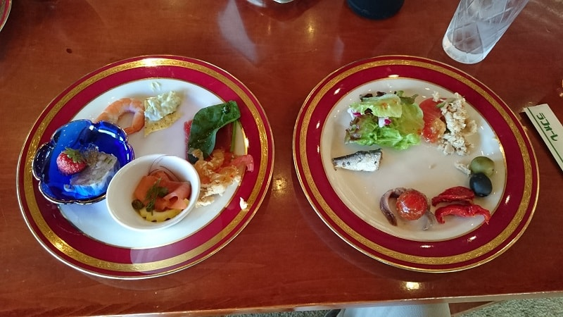 ラフォーレ修善寺 ダイニングFUJI 食事