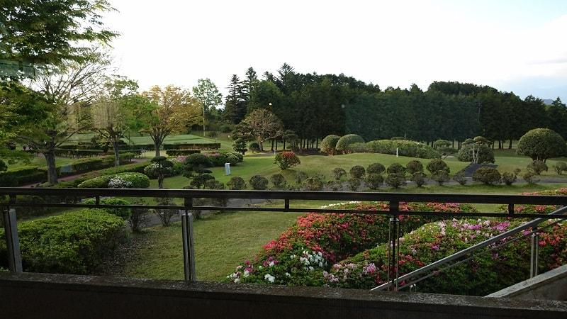 ラフォーレ修善寺 ゲストハウスからの眺め