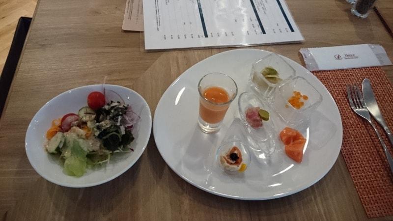 ブッフェダイニング ポルトの料理の写真 オードブル